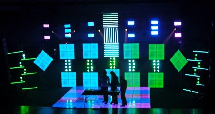 Neon Dance Floor